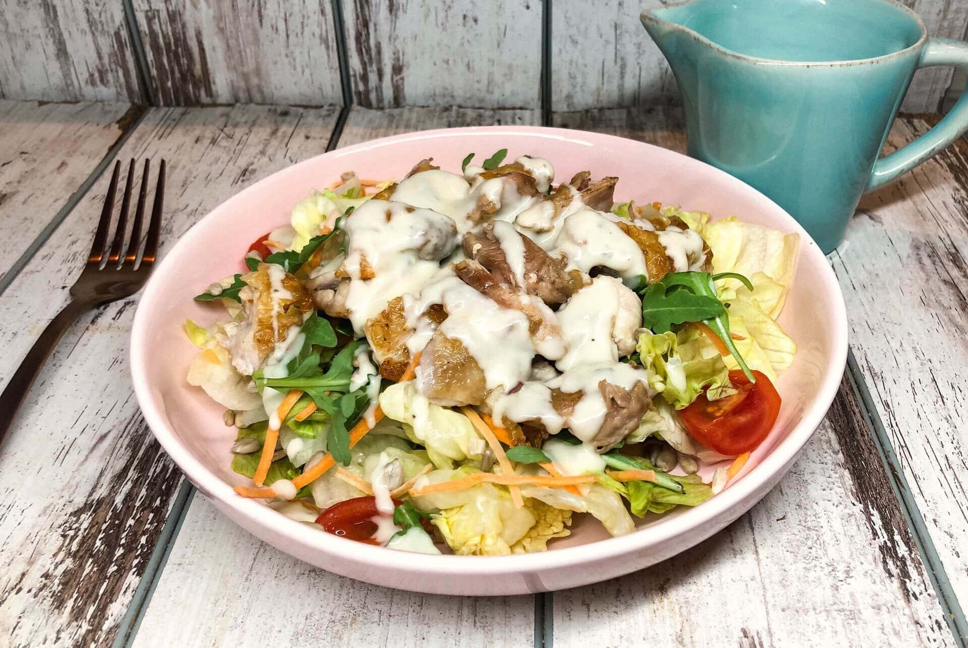 gorgonzola preliv, salata sa gorgonzolom, gorgonzola